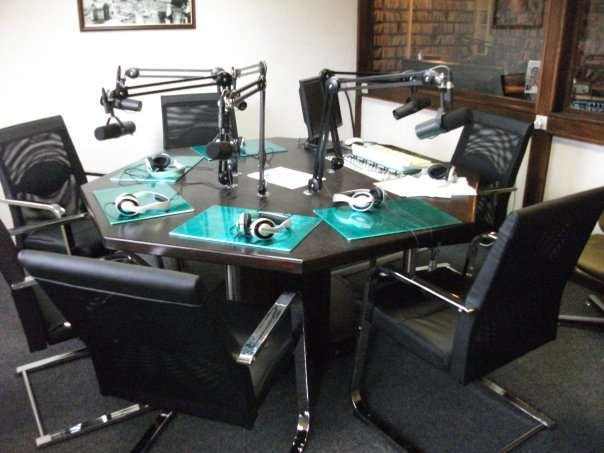 La salle d'interviews